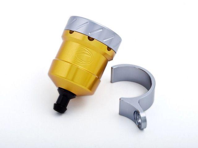 送料無料 エボテック 汎用 ラジエター関連パーツ フルードリザーバータンク 15cc ストレート ゴールド チタニウム ブルー