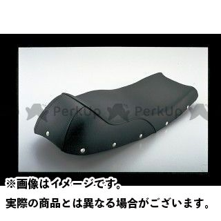 ポッシュフェイス SR400 SR500 シート関連パーツ カフェ・スリーシート(タンクカバー用) 黒パイピング