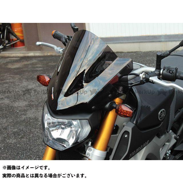 ポッシュフェイス MT-09 メーターバイザー クリアー POSH Faith
