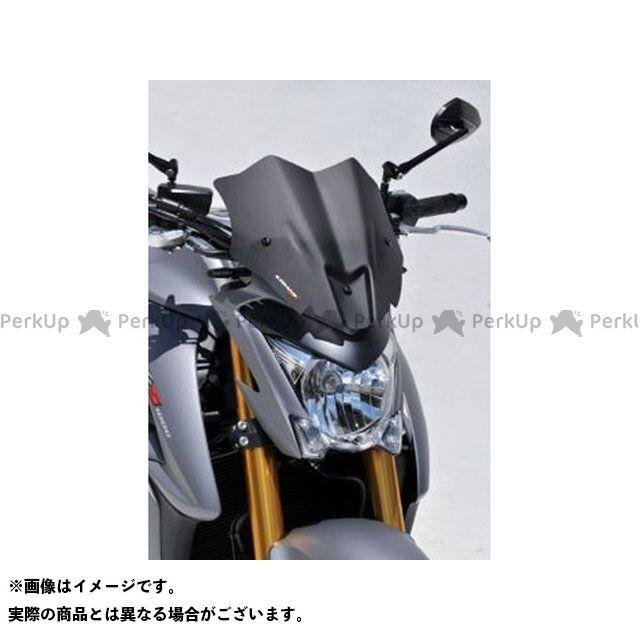 送料無料 ポッシュフェイス GSX-S1000 スクリーン関連パーツ メーターバイザー 30cm スモーク