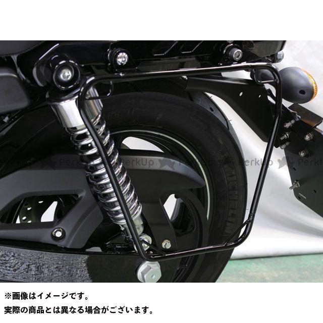 【エントリーで最大P23倍】キジマ XG750 ストリート750 サドルバッグサポート(ブラック) KIJIMA