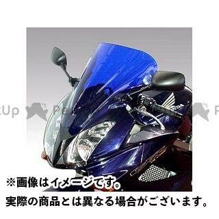 送料無料 イソッタ VFR800 スクリーン関連パーツ HONDA VFR800 2002-2004年 ウインドシールド ダブル バブル ブルー