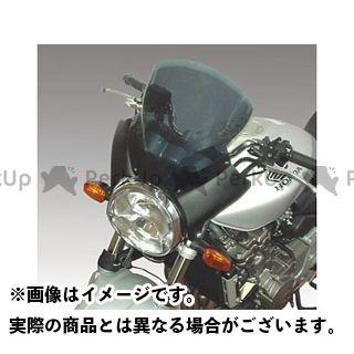 イソッタ CB900ホーネット ホーネット600 HONDA Hornet600/900 2003年 ウインドシールド ホールディングパネル:ブラック ウインドシールド:ダーク スモークト/is-sc171 ISOTTA