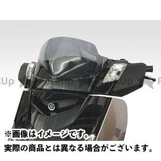 イソッタ その他のモデル YAMAHA スクーター X-MAX 250 ウインドシールド ダブル バブル カラー:イエロー ISOTTA