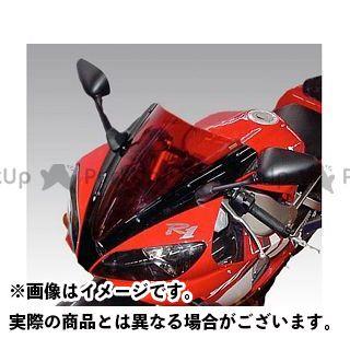 送料無料 イソッタ YZF-R1 スクリーン関連パーツ YAMAHA YZF-R1 2000-2001 ウインドシールド スタンダード ライト・グレー