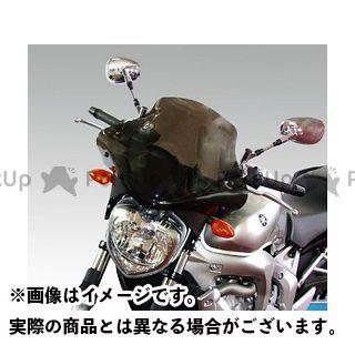 イソッタ FZ6-N YAMAHA FZ6 2004年 ウインドシールド Racing screen(ダーク・グレー) ISOTTA
