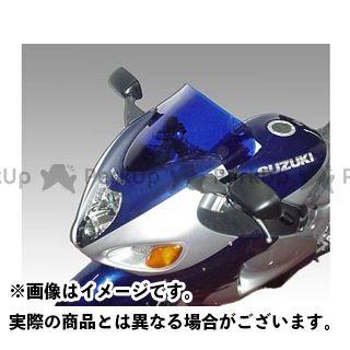 送料無料 イソッタ 隼 ハヤブサ スクリーン関連パーツ SUZUKI GSX1300R Hayabusa 1999-2004年 ウインドシールド スタンダード ダーク・グレー