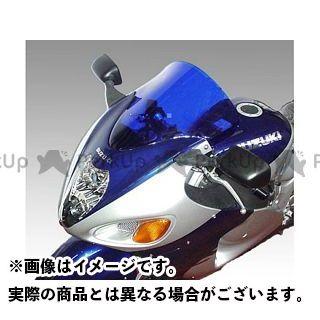 送料無料 イソッタ 隼 ハヤブサ スクリーン関連パーツ SUZUKI GSX1300R Hayabusa 1999-2004年 ウインドシールド エアーフロー ライト・グレー