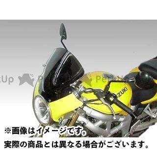 イソッタ SV650 SUZUKI SV650 ウインドシールド ホールディングパネル:ブラック ウインドシールド:ライトスモークト/is-sc528 ISOTTA