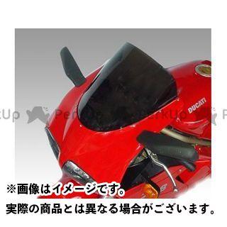 イソッタ 748 916 996 DUCATI 748/916/996 1997-2001年 ウインドシールド racing super bike ライト・グレー ISOTTA