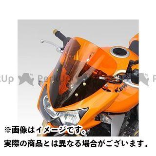 イソッタ Z750 KAWASAKI Z750 2004年 ウインドシールド ダブル バブル スタンダード カラー:ダーク・グレー ISOTTA