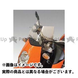 イソッタ 950スーパーモト 950スーパーモトR KTM 950 SM e 950 SM/R ウインドシールド サマー カラー:オレンジ ISOTTA