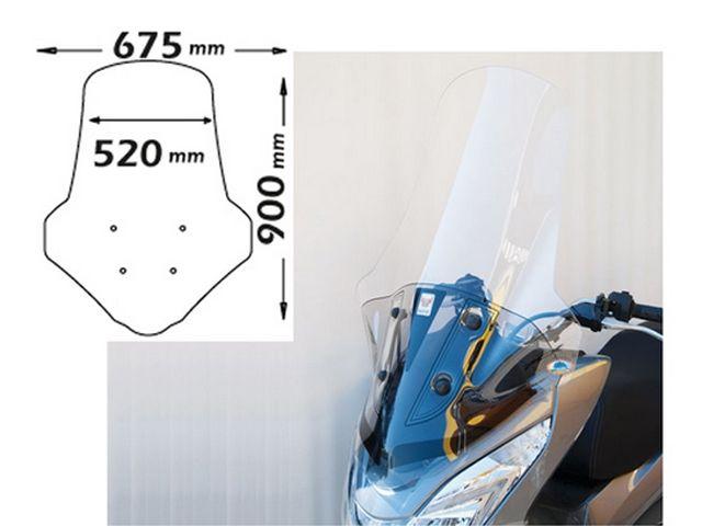 送料無料 イソッタ PCX125 スクリーン関連パーツ HONDA PCX125(2014-) ハイウインドシールド