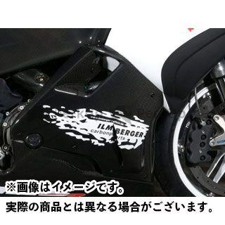 送料無料 イルムバーガー その他のモデル カウル・エアロ Buell 1125R/CR用 サイドカウル 右側