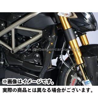 送料無料 イルムバーガー ストリートファイター ドレスアップ・カバー Ducati Streetfighter用 ウォータクーラー カバー 右側
