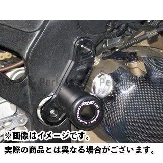 GSGモト ニンジャZX-12R crashpad set with black aluminium fitting plate GSG Mototechnik