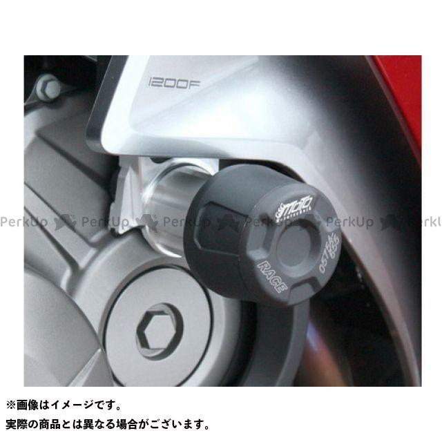 GSGモト VFR1200F Honda VFR 1200 (SC36) from 2010 -クラッシュパッド 左右セット カラー:ブラック GSG Mototechnik