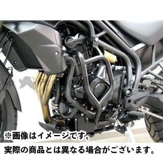 送料無料 フェーリング タイガー800 エンジンガード オフロード プロテクションガード(ブラック)
