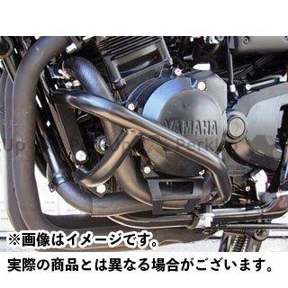 送料無料 フェーリング FZS600フェザー エンジンガード エンジンガード Black
