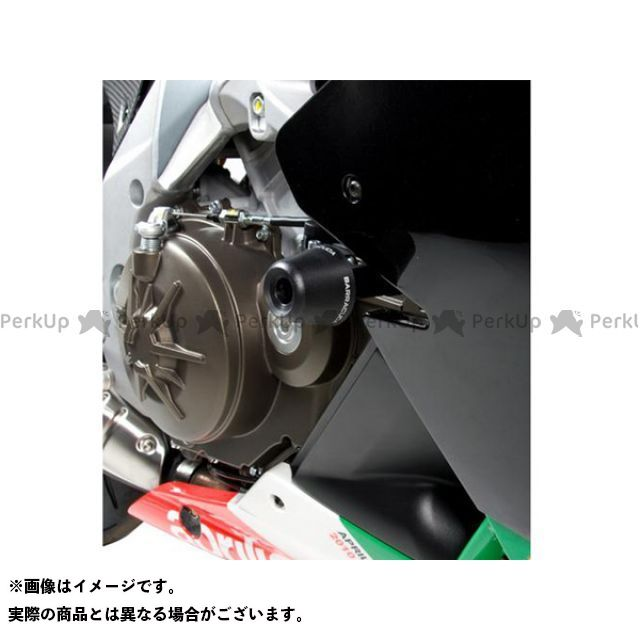 バラクーダ RSV4ファクトリー クラッシュパッド コンプリートキット 左右セット/RSV4 BARRACUDA