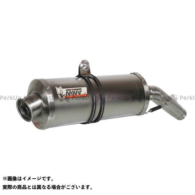 【エントリーで最大P21倍】ミヴ バンディット650 スリップオンマフラー OVAL チタン SUZUKI GSF 650 BANDIT (05-06) MIVV