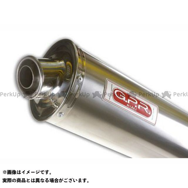 【無料雑誌付き】GPR トゥオーノ1000 スリップオンマフラー APRILIA TUONO 1000 (02-05) Exhaust 仕様:Titan Oval G.P.R.