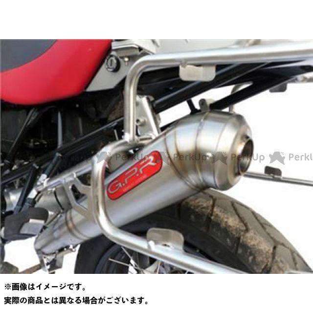 【エントリーで最大P21倍】GPR R1200GS スリップオンマフラー BMW R 1200 GS Exhaust 仕様:Powercone Stainless G.P.R.