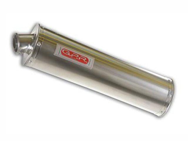 送料無料 GPR G.P.R. マフラー本体 スリップオンマフラー DUCATI MONSTER 600-620-695-750-900-1000 Exhaust Stainless Oval