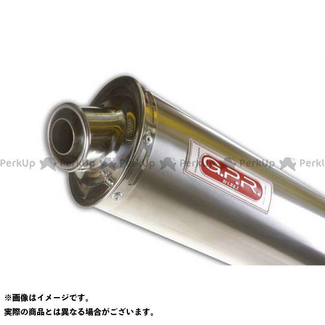 GPR その他のモデル スリップオンマフラー HONDA CBF 500 2004 Exhaust 仕様:Titan Oval G.P.R.