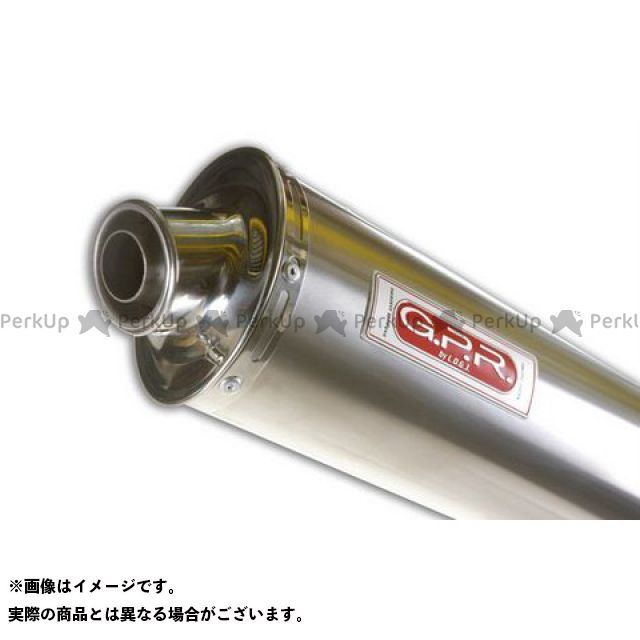 【エントリーで最大P21倍】GPR GT 650コメット スリップオンマフラー HYOSUNG COMET 65O Exhaust 仕様:Titan Oval G.P.R.