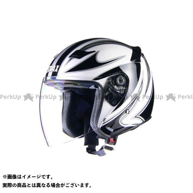 リード工業 STRAX SJ-9 ジェットヘルメット ホワイト M LEAD工業