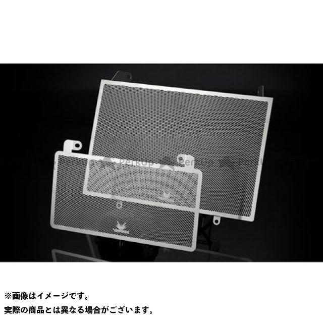 送料無料 ヴォーグ 隼 ハヤブサ ラジエター関連パーツ コアガードセット GSXR1300 HAYABUSA(ステンレス地肌)