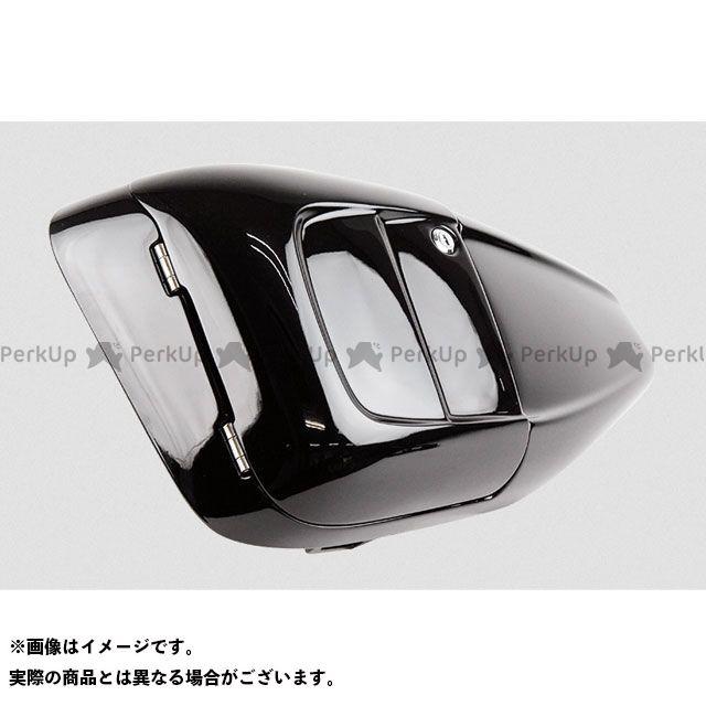 グリーミングワークス スポーツスターファミリー汎用 ETC収納・サイドカバー for XL カラー:ブラック 年式:・14-15 GLEAMING WORKS