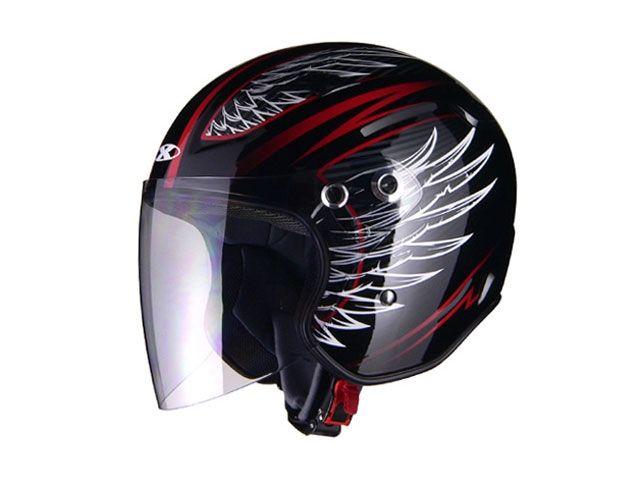 送料無料 リード工業 LEAD工業 ジェットヘルメット X-AIR RAZZOIII G1 ジェットヘルメット ブラック/フェザー S/55-56cm未満