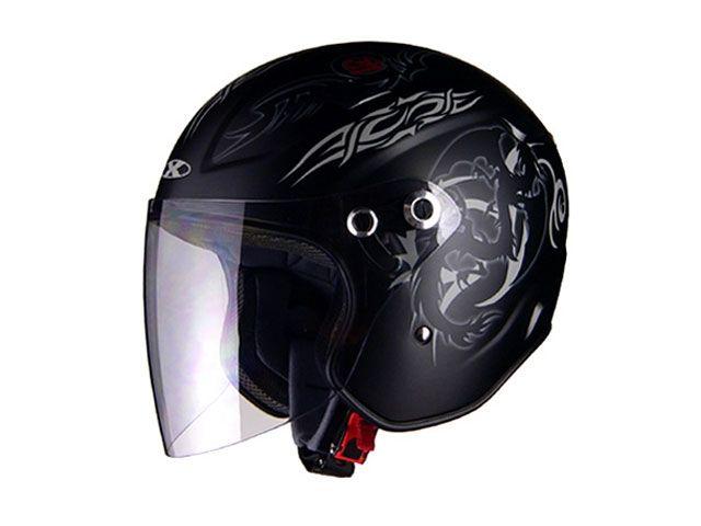 送料無料 リード工業 LEAD工業 ジェットヘルメット X-AIR RAZZOIII G1 ジェットヘルメット マット/ドラゴン S/55-56cm未満