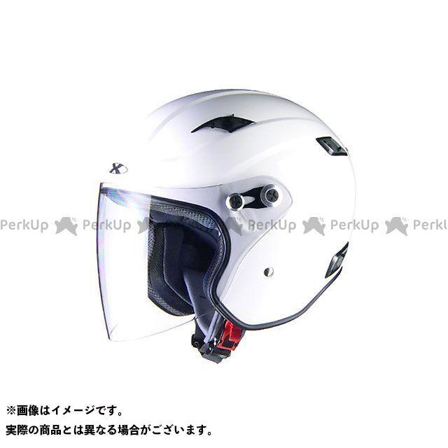 送料無料 リード工業 LEAD工業 ジェットヘルメット X-AIR RAZZOIII ジェットヘルメット ホワイト M/57-58cm