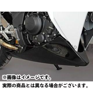 マジカルレーシング CBR250R カウル・エアロ アンダーカウル 外品マフラー仕様 FRP製・黒
