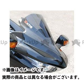 マジカルレーシング DN-01 カーボントリムスクリーン 平織りカーボン製 クリア