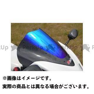 マジカルレーシング 隼 ハヤブサ カーボントリムスクリーン 平織りカーボン製 スーパーコート Magical Racing