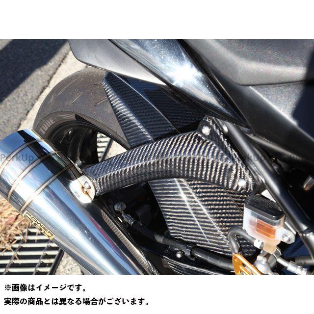 【特価品】マジカルレーシング GSR750 マフラーステー 材質:綾織りカーボン製 Magical Racing