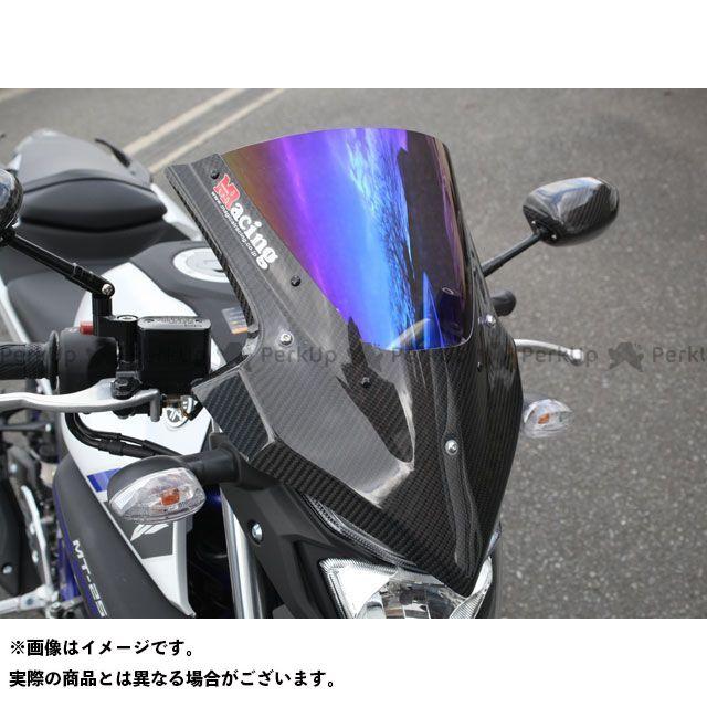 マジカルレーシング MT-25 バイザースクリーン 綾織りカーボン製 スモーク Magical Racing
