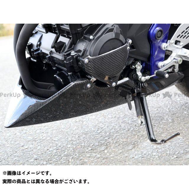 送料無料 マジカルレーシング MT-25 カウル・エアロ アンダーカウル FRP製・黒