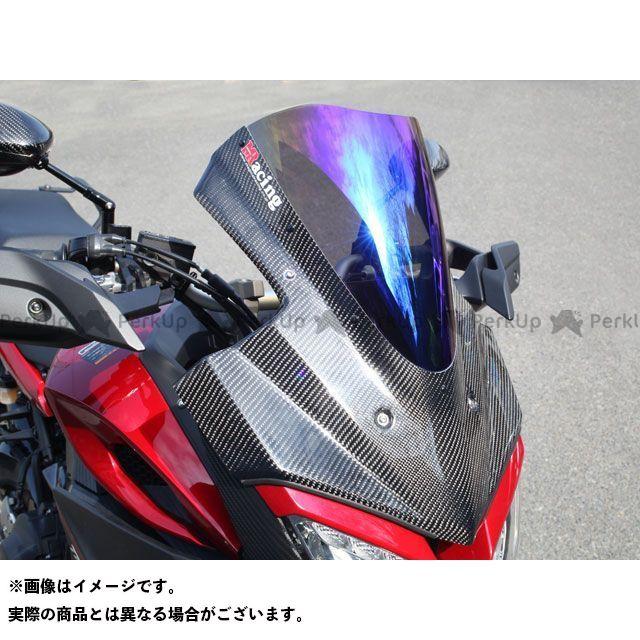 マジカルレーシング トレーサー900・MT-09トレーサー バイザースクリーン 平織りカーボン製 クリア Magical Racing