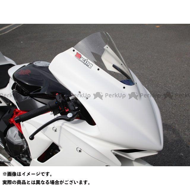 【特価品】マジカルレーシング F3 675 アッパーカウル 材質:FRP製・白 Magical Racing