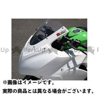 マジカルレーシング ニンジャ250 アッパーカウル FRP製・白