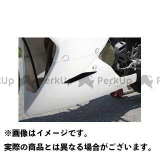 マジカルレーシング ニンジャ250 カウル・エアロ アンダーカウル FRP製・白