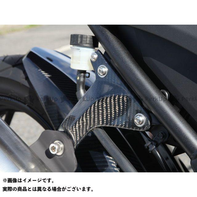 送料無料 マジカルレーシング Z250 マフラーステー・バンド マフラーステー 綾織りカーボン製
