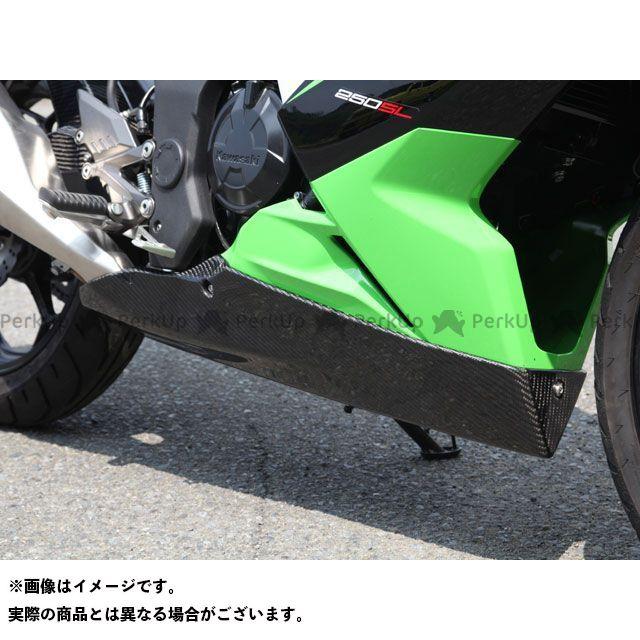マジカルレーシング ニンジャ250SL アンダーカウル FRP製・黒 Magical Racing