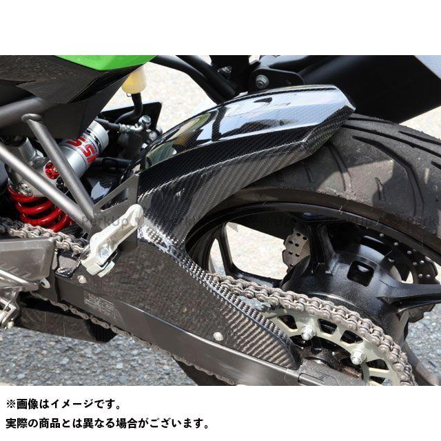 【特価品】マジカルレーシング ニンジャ250SL リアフェンダー 材質:平織りカーボン製 Magical Racing