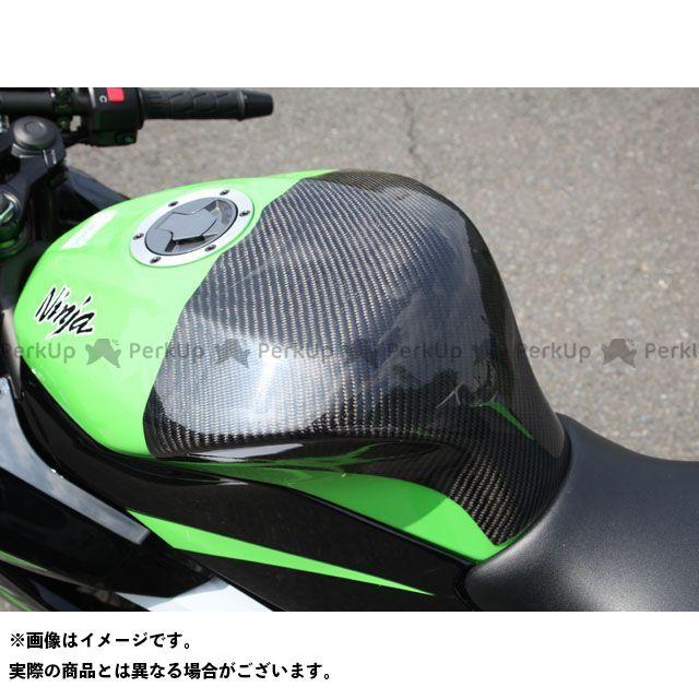【エントリーで更にP5倍】【特価品】マジカルレーシング ニンジャ250SL タンクエンド 材質:FRP製・黒 Magical Racing